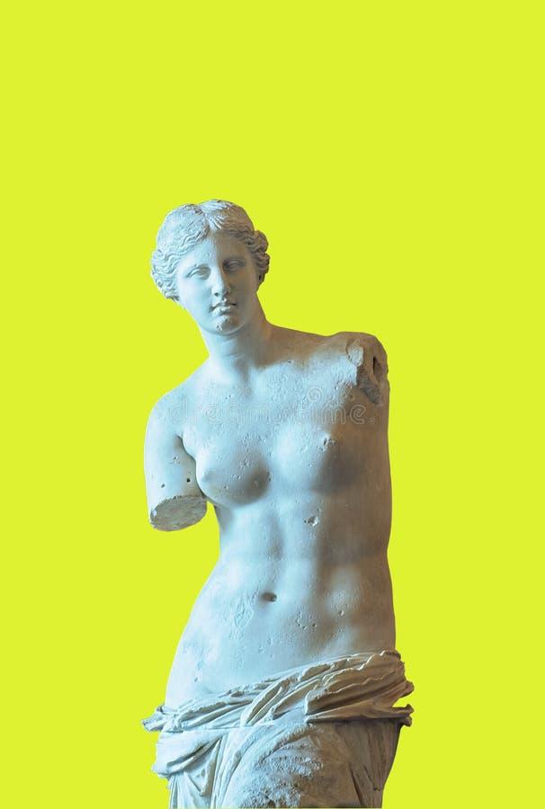 Venus de Milo au musée de Louvre images stock