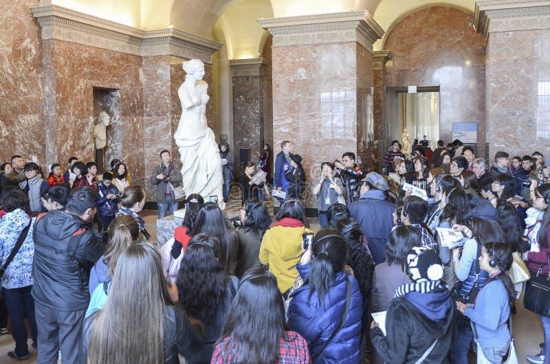 Venus de Milo, Louvre photo libre de droits