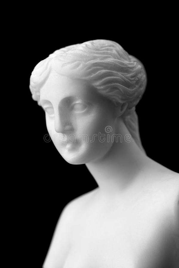The Venus De Milo Is A Marble Statue Of The Hellenistic Era. Royalty Free Stock Photo
