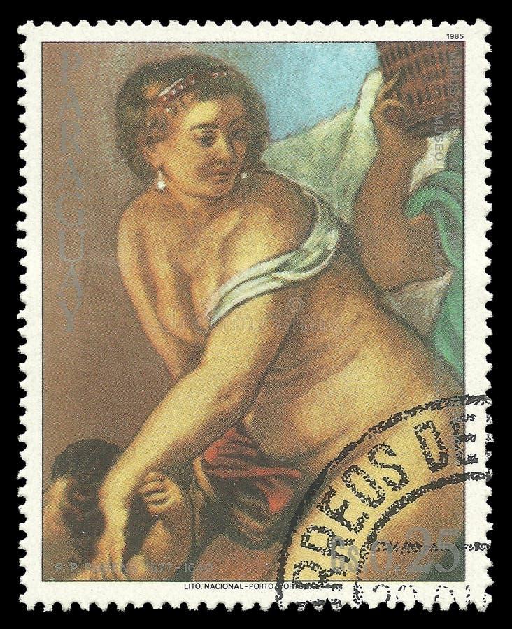 Venus in der Schmiede von Vulcan durch Rubens vektor abbildung