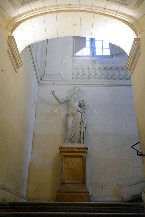 Venus i stadshuset, Arles, Frankrike arkivbild