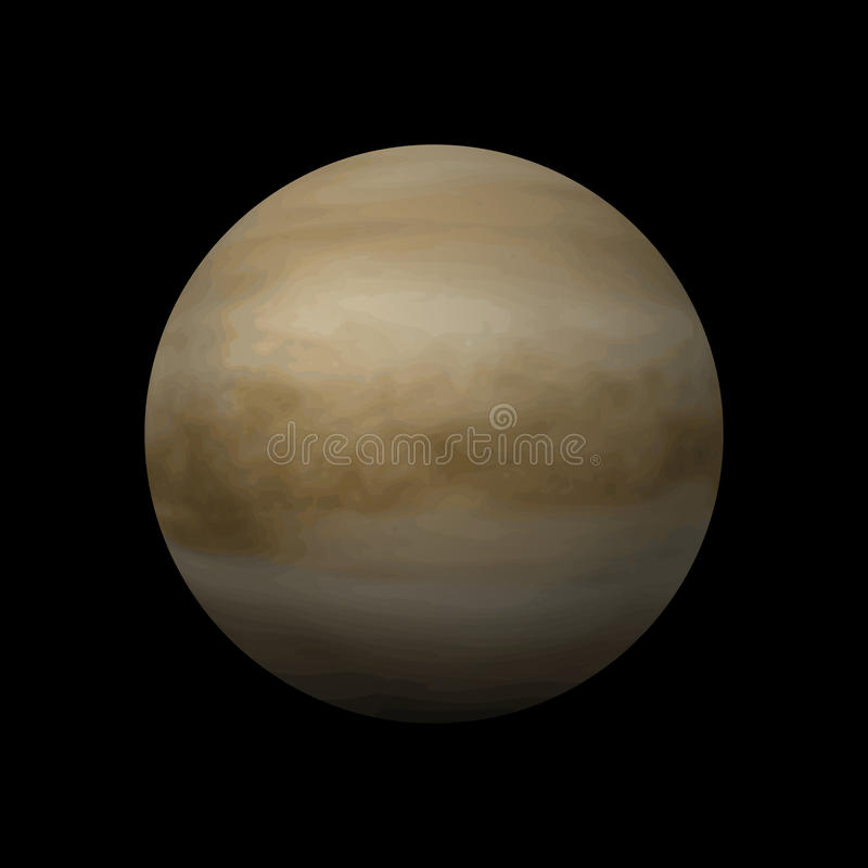 Venus planet royalty free illustration
