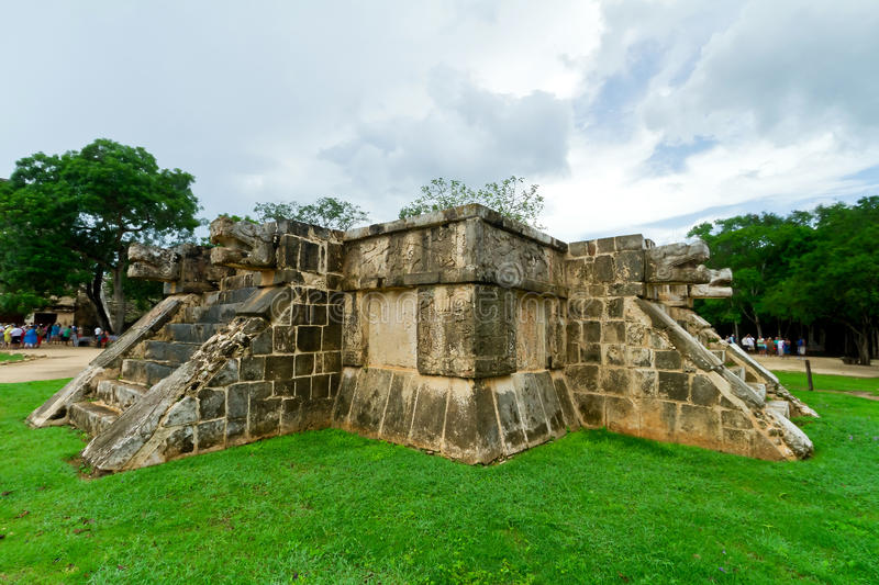 Download Venus Platform In Chichen Itza Royalty Free Stock Photography - Image: 21339547