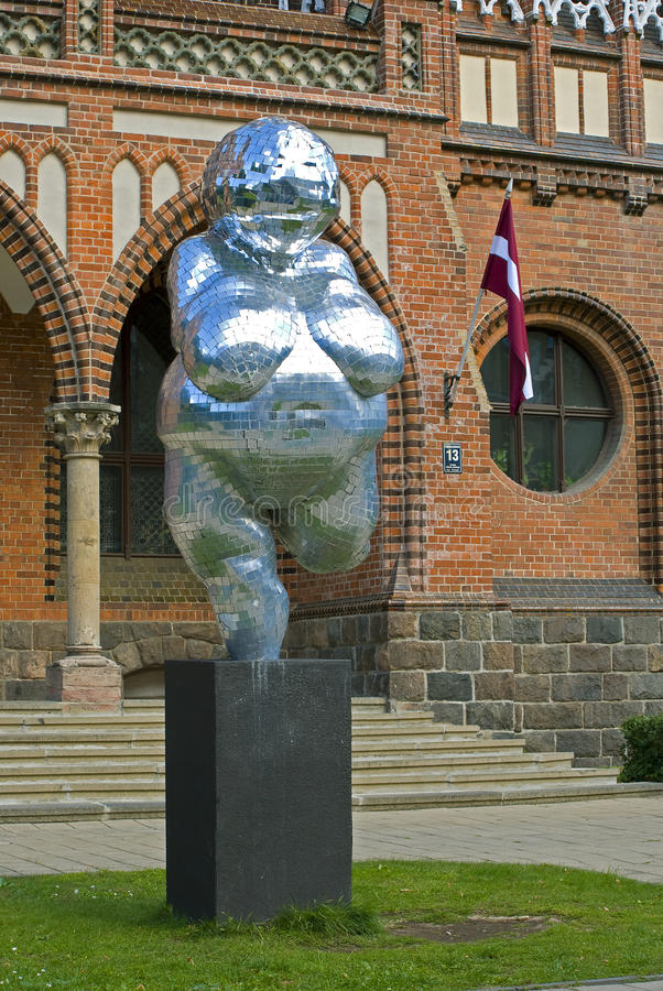 Venus of Willendorf the 21st century royalty free stock image