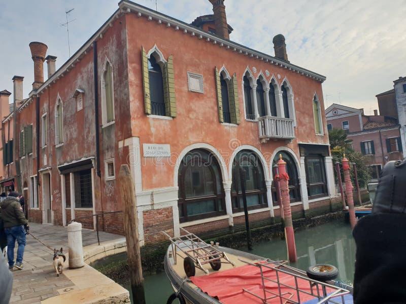 Venzia της Βενετίας στο χειμώνα γύρω στα Χριστούγεννα και το νέο το Δεκέμ στοκ εικόνες