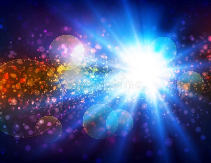 Veo la luz ilustración del vector