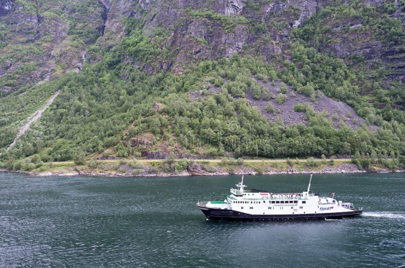 VEOY de Fjord1 en el Geirangerfjord, Noruega fotos de archivo libres de regalías