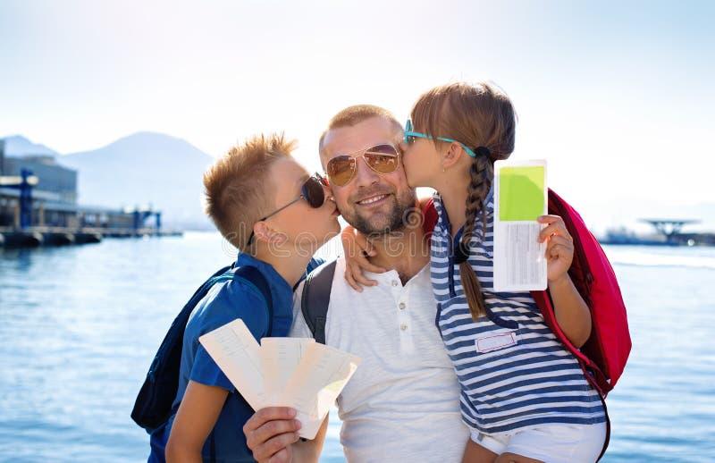 verão, conceito de família fotografia de stock royalty free