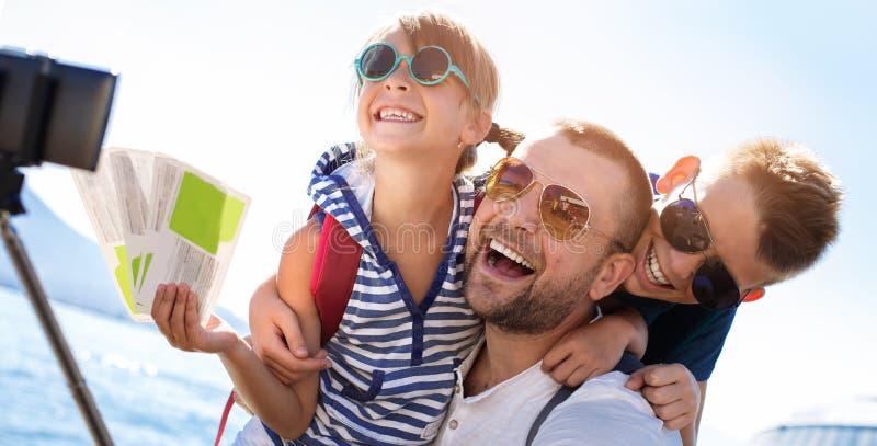 verão, conceito de família imagem de stock
