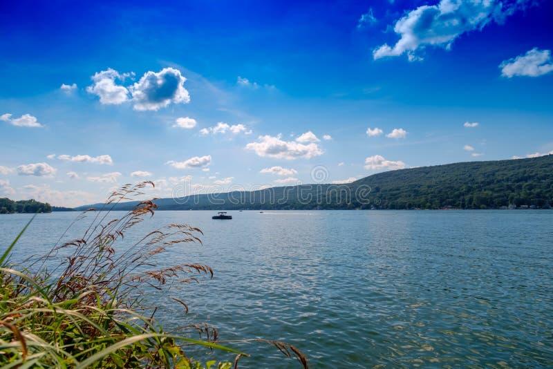 verão do lago NY greenwood fotos de stock royalty free