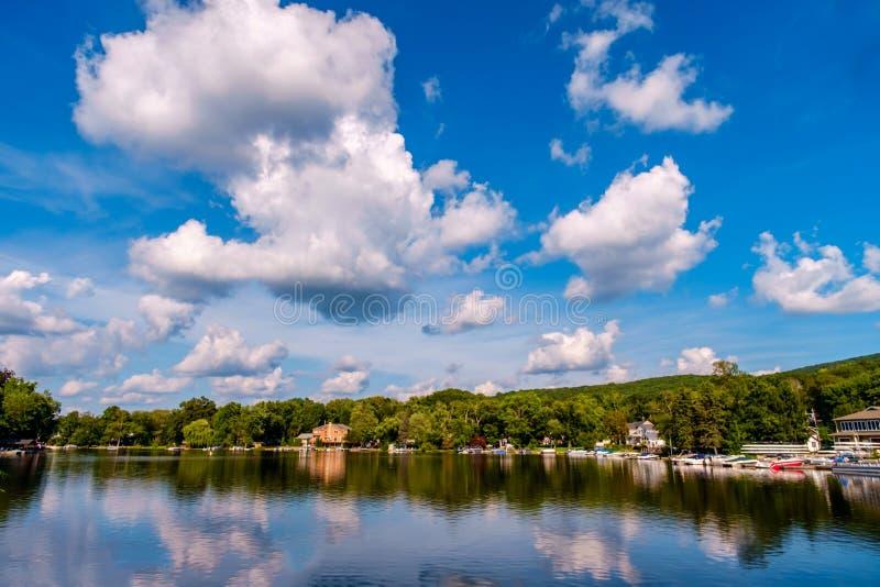 verão do lago NY greenwood imagens de stock royalty free