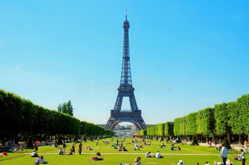 Verão em Paris fotos de stock royalty free