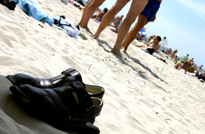 Verão na praia II foto de stock royalty free