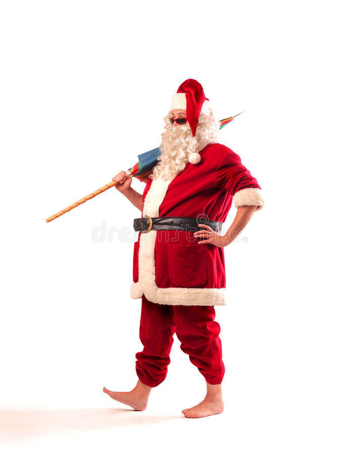 Verão Papai Noel fotografia de stock royalty free