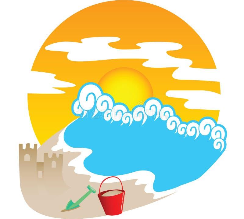 Verão Theme2 ilustração do vetor