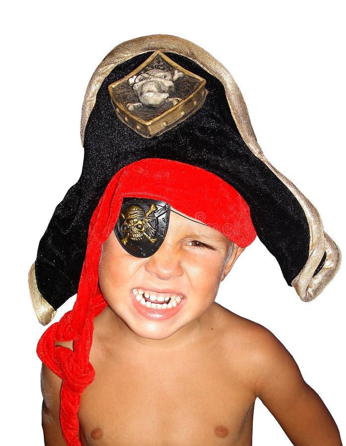 Verärgerter Pirat. lizenzfreie stockfotografie