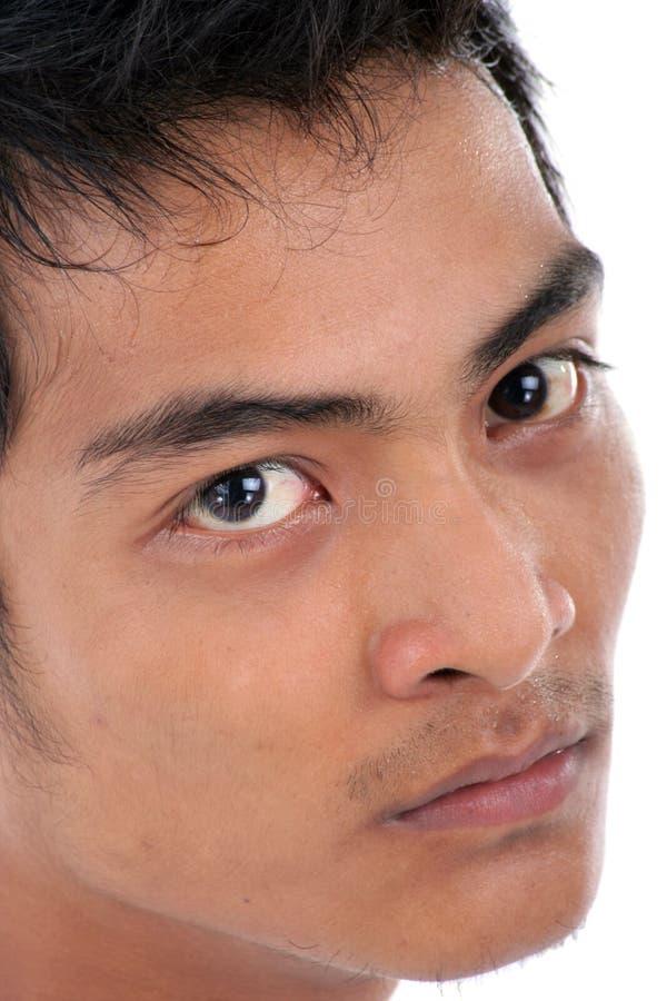 Verärgertes Gesicht stockfotografie