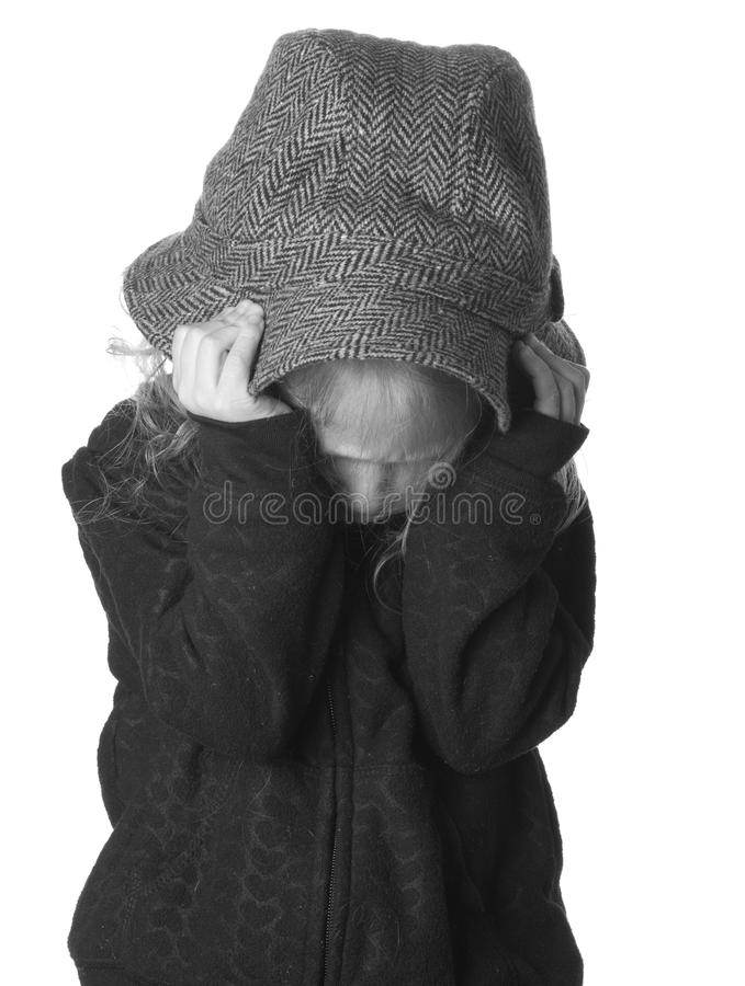 Verärgertes Kind lizenzfreie stockbilder