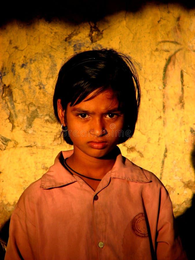 Verärgertes Mädchen lizenzfreies stockfoto