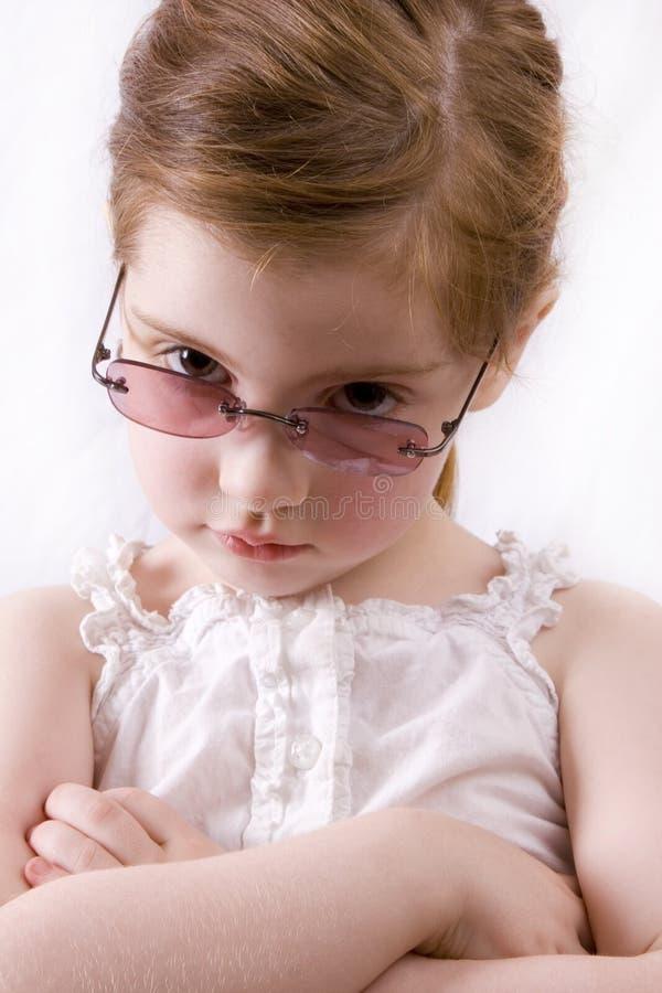 Verärgertes Mädchen stockfotos