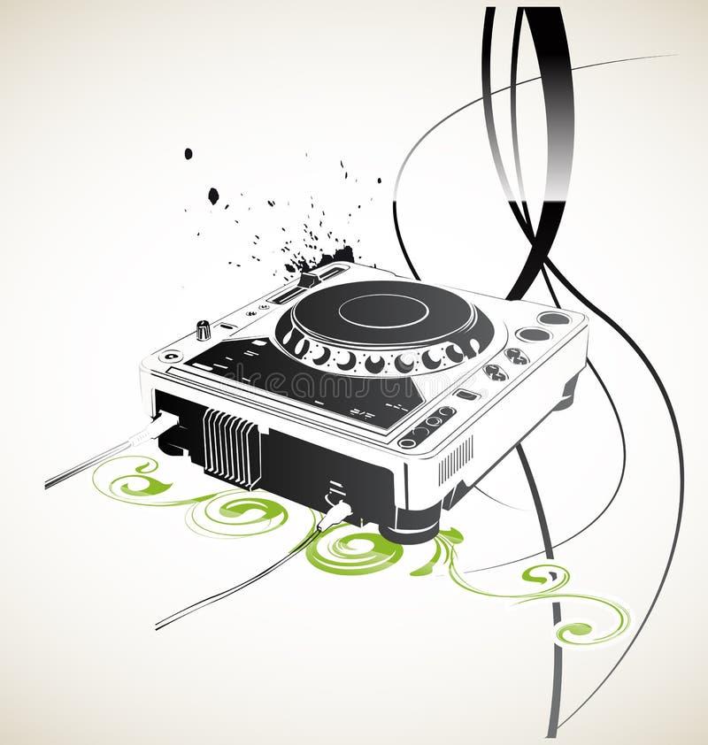 Ver DJ royalty-vrije illustratie