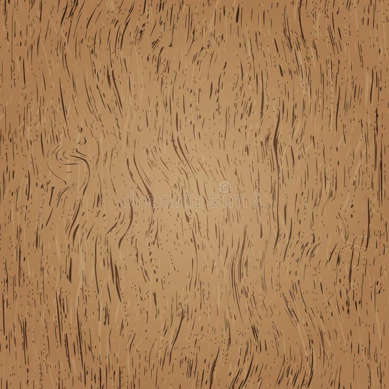Ver realístico de madeira ilustração do vetor