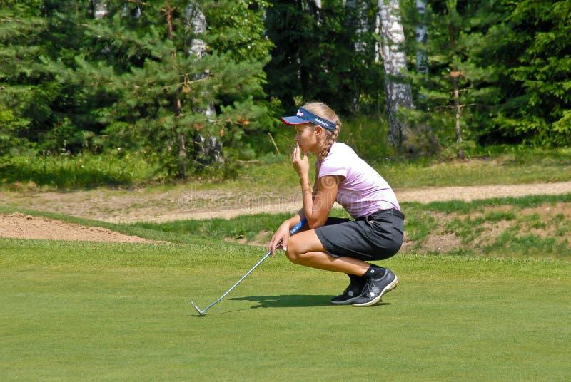 Download Vera  Shimanskaya The Professional Golfer Editorial Photography - Image: 18649852
