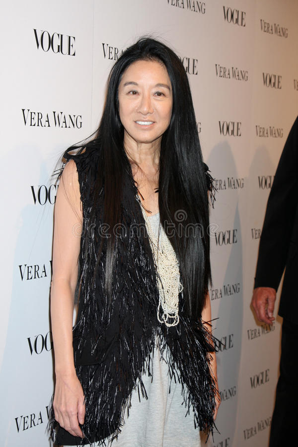 Vera Wang fotografie stock libere da diritti