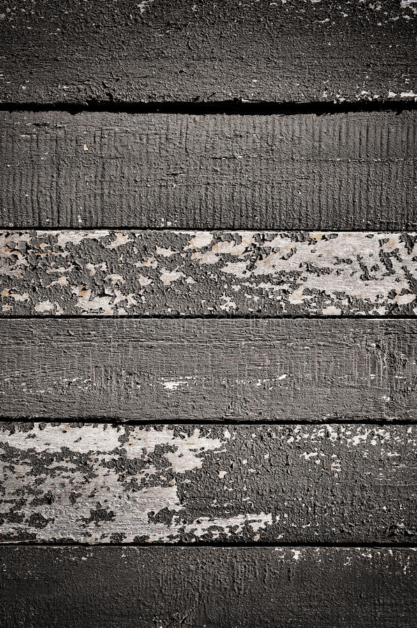 Veraltete gemalte Planken stockbilder