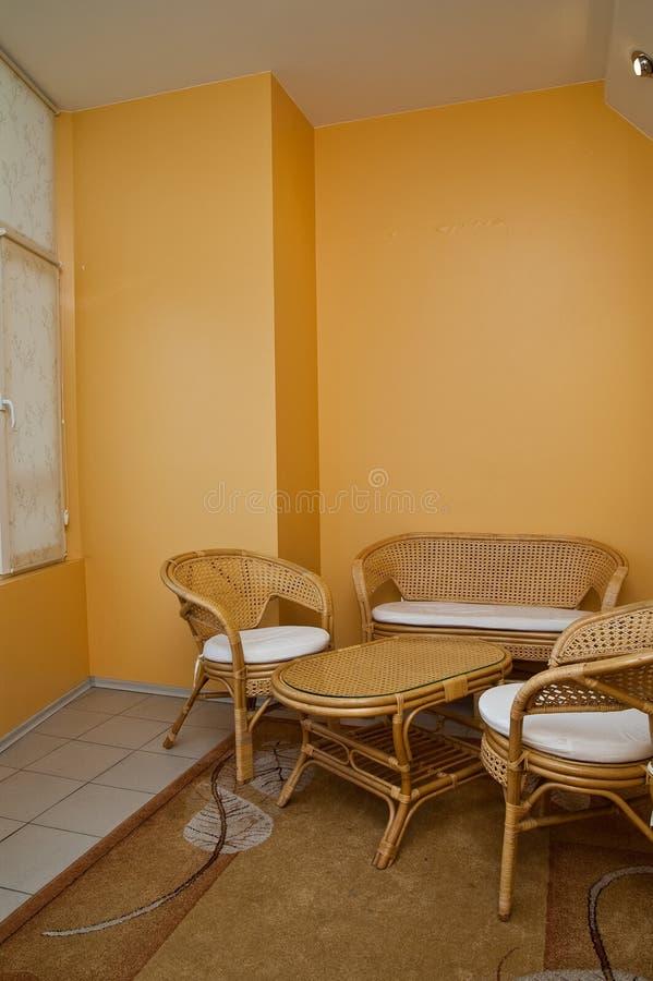 veranda fotografia stock