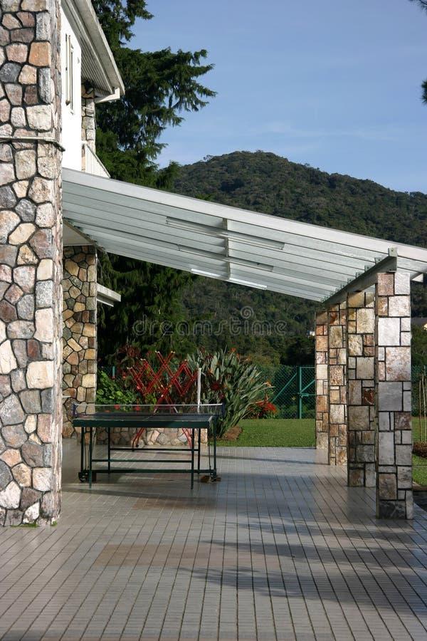Download Veranda stock image. Image of beautiful, concrete, brick - 604487