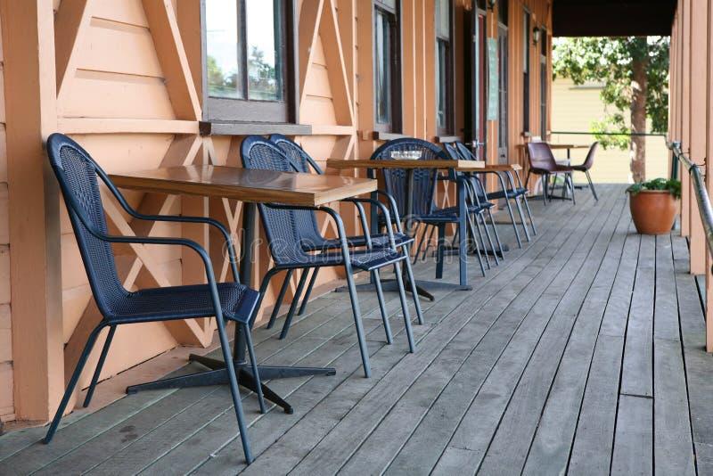veranda royaltyfria foton