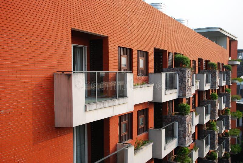 Download Veranda and red wall stock image. Image of design, veranda - 21993817