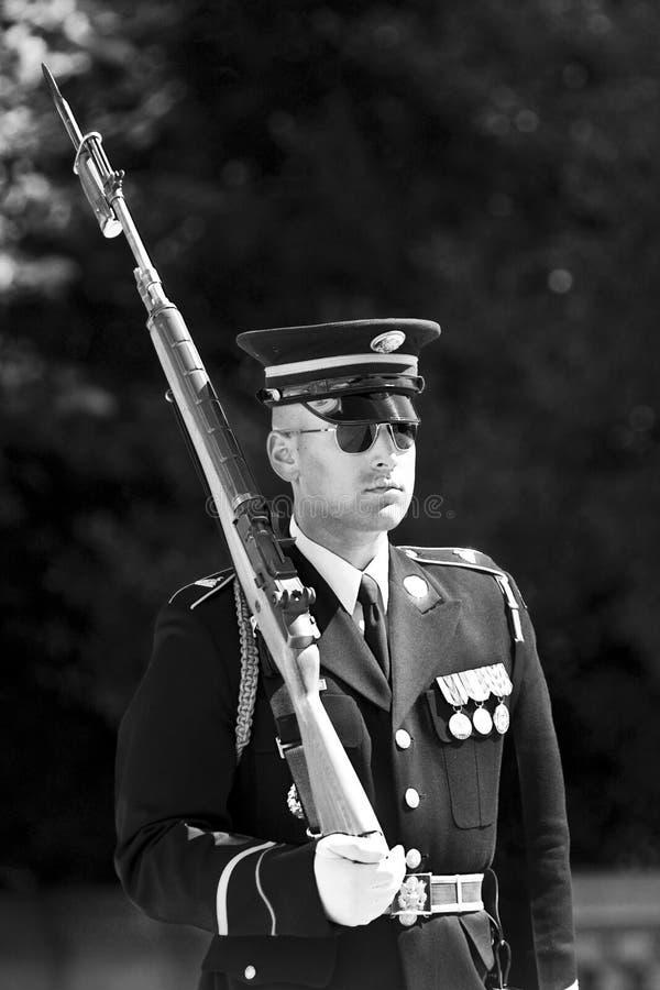 Verandering van de Wacht in Begraafplaats Arlington royalty-vrije stock fotografie