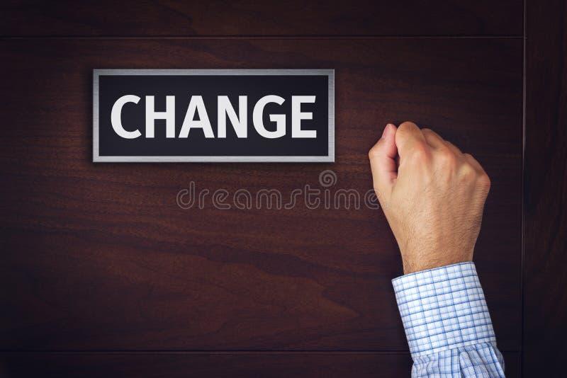 Veranderingen in zaken, conceptueel beeld royalty-vrije stock foto