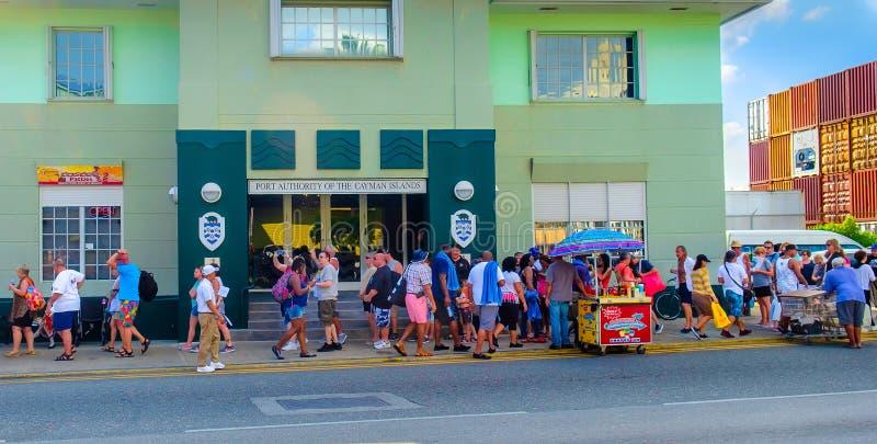 Veraneantes de Grand Cayman imagem de stock royalty free