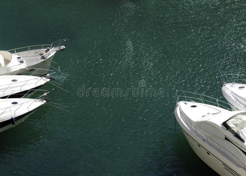 Verankerte Boote lizenzfreie stockfotografie