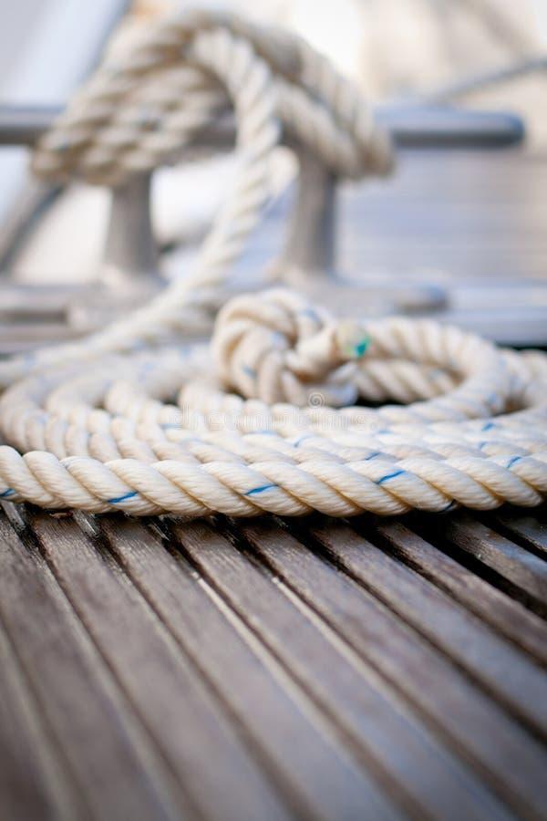 Verankerungs- Seil stockfoto