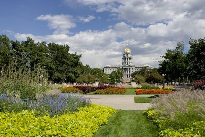 Verano 2010 del capitolio de Denver imagenes de archivo