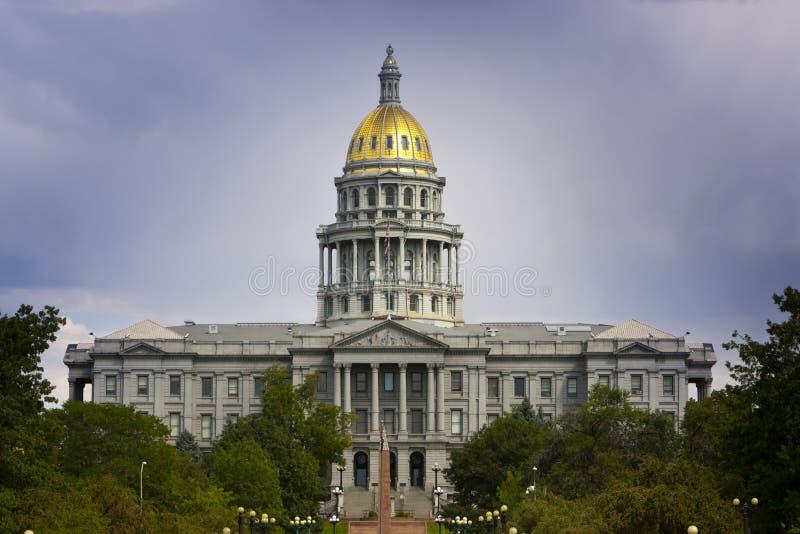 Verano 2010 del capitolio de Denver imagen de archivo libre de regalías