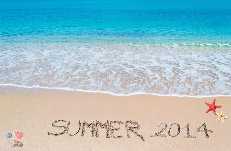 Verano 2014 foto de archivo