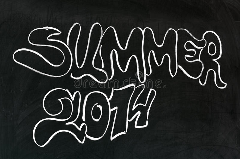 Verano 2014 fotografía de archivo