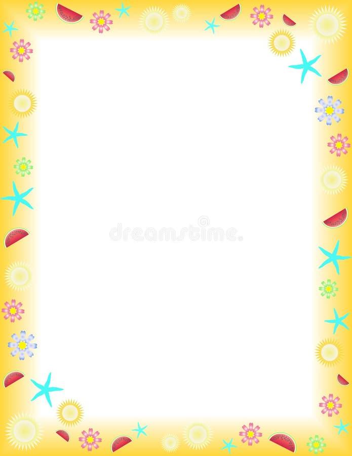 Download Verano ilustración del vector. Ilustración de lindo, ornamento - 7150750