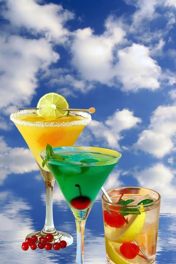 Verano de la bebida foto de archivo libre de regalías