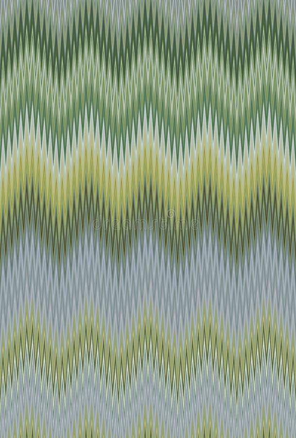 Verano de la hierba del follaje del verde de Chevron Extracto imagen de archivo libre de regalías