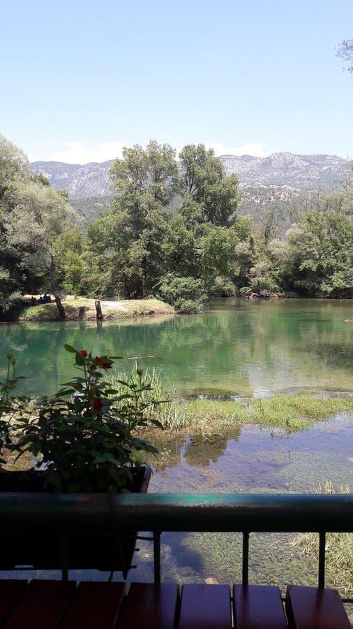 Verano de la zeta del río fotografía de archivo
