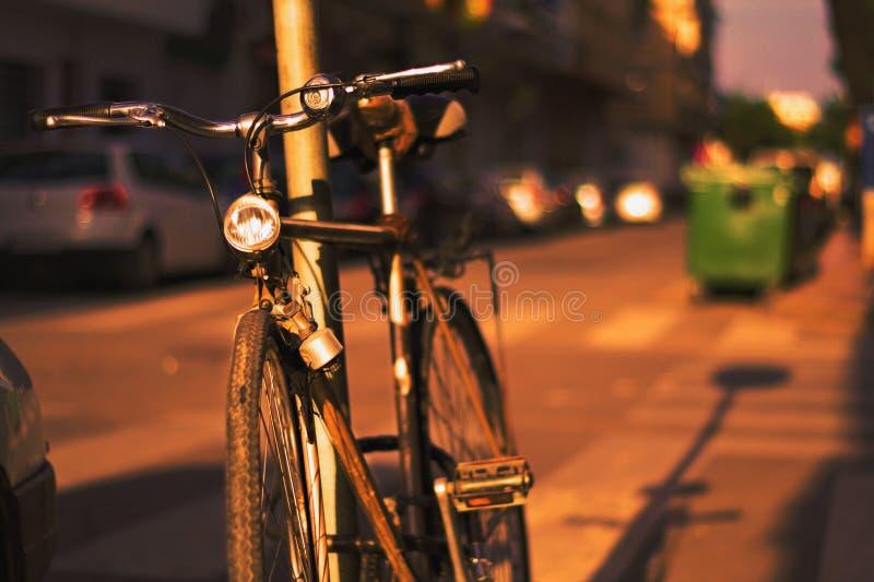 Verano de para do filho dos bicicletas de Las imagens de stock