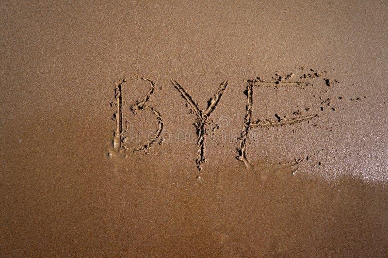 Verano del adiós fotografía de archivo libre de regalías