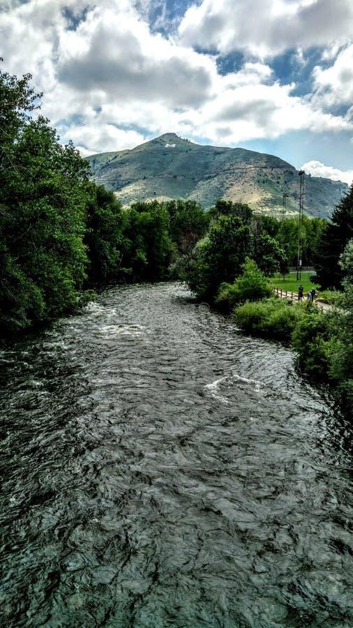 Verano en Colorado imagenes de archivo