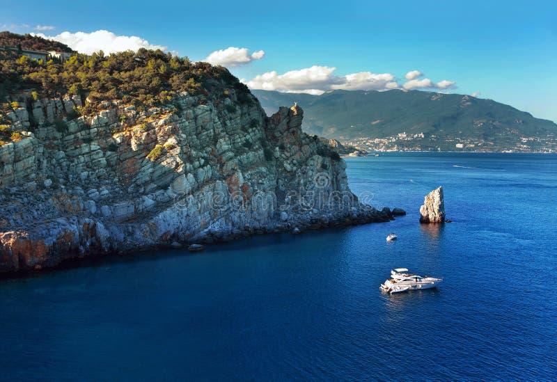 Verano en Crimea fotos de archivo